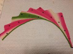 Ravelry: RaquelChole's Wingspan Watermelon Scarf