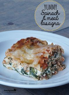 Healthy and delicious Lasagna recipe @savedbyloves