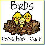 Birds Preschool Printables