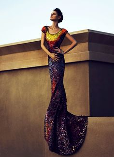 Teela Cull by Emeranie    Dress: Lloyd Klein