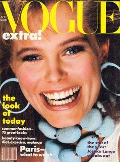 Renee Simonsen  -  Vogue US 1983 by Avedon