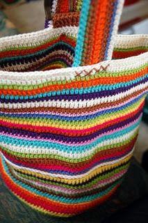 cotton bag, crochet bags, beach bags, colour cotton, crocheted bags
