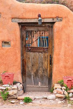 Door in Santa Fe, New Mexico