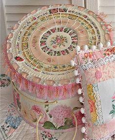 mosaic hat box