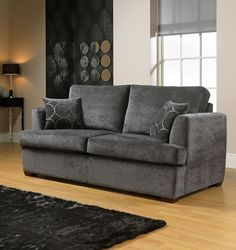 Grey sofa bed. http://www.worldstores.co.uk/p/Cloud_Sofa_Bed.htm