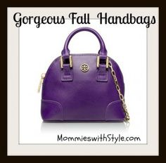 Fall Bags #FashionFriday