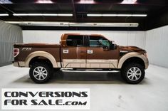 2011 Ford F150 SuperCrew Lariat 6.2L Tuscany FTX Lifted Truck