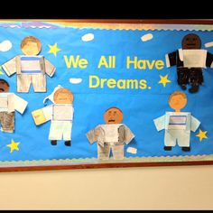 Martin Luther king bulletin board