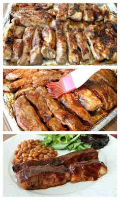 Broiled Ribs with Homemade Barbeque Sauce | 5DollarDinners.com