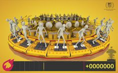 [VIDEO] Sehsucht brings MTV animated spot to gaming life; Interactive; Really Cool!