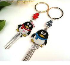 Penguin Couple Key-chain