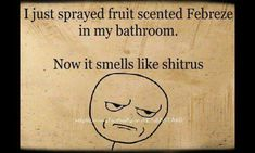 air freshener, spray, office bathroom, funni, funny stuff, apples, bathroom humor, quit laugh, thing