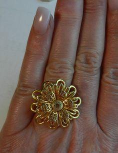 Coach flower ring :-)