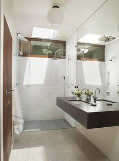 Mid-Century Modern Bathroom - 1960s Eichler renovated by Ana Williamson Architect