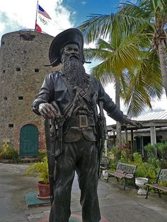 Blackbeard's castle in St. Thomas, USVI