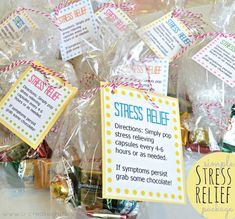 #RAOKDIY Simple Stress Relief Package and Free Download! diy simpl, christmas gifts for coworkers, simpl stress, gift ideas, free download, relief packag, coworkers christmas gifts, stress relief, coworker christmas gifts