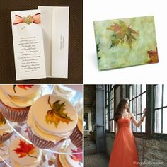 Fall Maple Leaf Inspired Wedding  #wedding #fall #maple #leaf