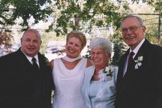 Che Jim and his wife, Carole on their wedding day in 2005. meet chef, che jim, chef jim