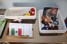 Montessori Cultural and Geography: Mexico inspired activities and Cinco de Mayo Day, from the My Montessori Moments blog.