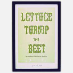 Turnip The Beet by Quail Lane Press