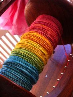 Beautiful Spinning Yarn