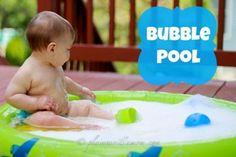 Make your own kiddie bubble pool // #BabyCenterBlog