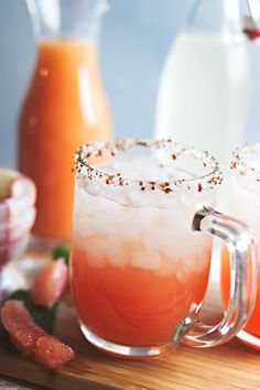 Salty Dogs with Bacon-Infused Vodka