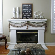 Burlap Banner with Bells #.UMVWMqWhDHg