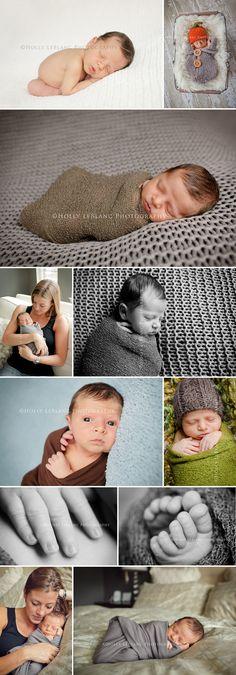 Cute newborn baby boy photos