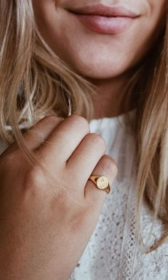 @erinmccullough wears the Star Signet.