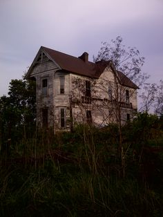 Old abandoned house Tennessee