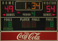 Many schools feature unhealthy food and beverage marketing on their scoreboards.  Schools should swap out unhealthy products for healthier ones—instead of the Coca-Cola logo, Coca-Cola could feature its Dasani water brand.