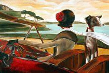 :: Trish Biddle Fine Art :: Road to Cannes :: Glamorous Women in Fabulous Places :: Eva Longoria :: Kentucky Derby :: Westminster Dog Show :: Hamptons Classic :: Del Mar