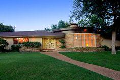 1957 mid-century home, Houston