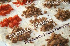Picnic Ideas – Pizza Pockets