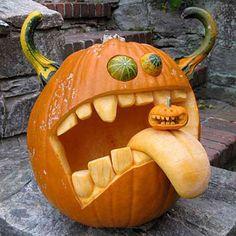 Pumpkin Carving Win