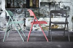 From Scandinavia with love - design & style (Frode folding chair from Ikea.)