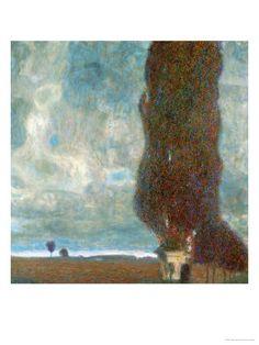 The Big Poplar Tree II, 1902-1903. Gustav Klimt