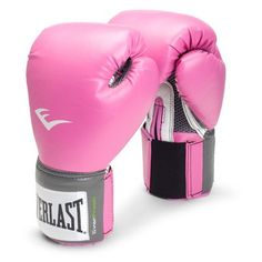 Everlast Pro Style Boxing Gloves (Pink, 8 oz.) « Impulse Clothes go through all 3 levels!