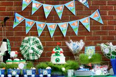 birthday parties, theme parties, party printables, golf party, kid birthdays, golf parti, golf birthday, themed parties, golf theme