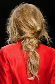 The best messy pony, like, ever - style with Alterna Bamboo styling products #hair #style #trend #haircare #fashion #runway #carattip
