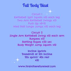 Fitness Friday: Full Body Circuit Workout