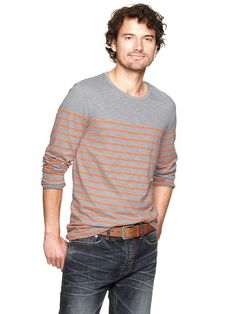 Gap | Engineer stripe knit T