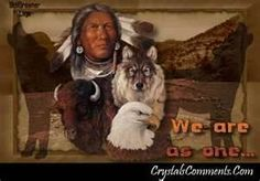 Image detail for -... native american man we are as one wolf eagleNaughty native american