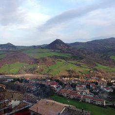Vista dalla Piazza di San Leo - Instagram by iladyi