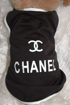 Chanel Inspired Black and White Tee Shirt