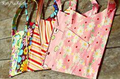 fat quarter gift bags