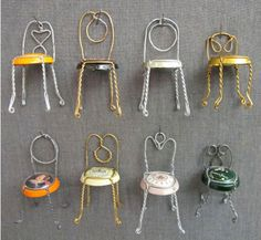 Champagne chairs beer cap, stuff, tini chair, the craft, champagn chair, champagne chairs