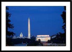 Washington, D. C. ~ Memorial at Night Tour.  Spring Break 2006