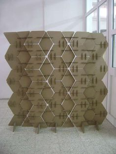 DIY Project: Cardboard Room Divider